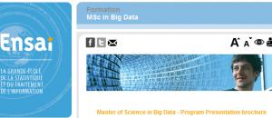 Ensai : ouverture d'un master international BIG DATA