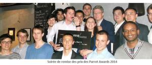Parrot Awards : le challenge étudiants le plus innovant