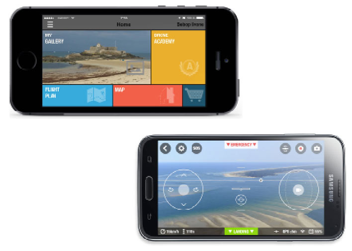 FreeFlight 3.0 : l'application de pilotage ultra intuitive