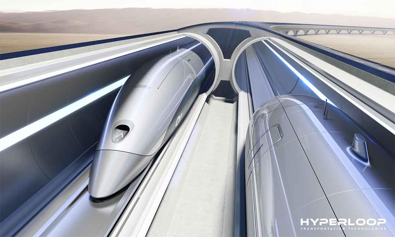 Hyperloop, ce n'est plus qu'un concept, mais un projet qui va se réaliser aux USA dans la région des grands lacs
