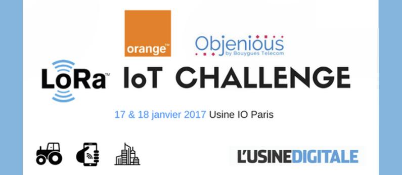 Objets connectés: Participez au Challenge IOT dédié à la technologie LoRa®