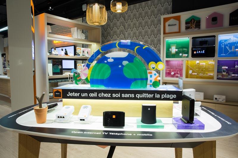 Orange ouvre sa premi re boutique smart store en france - Boutique orange agen ...