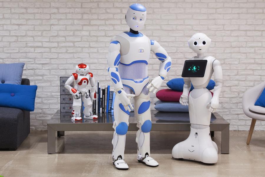 Un Robot Au Service Des Personnes 226 G 233 Es
