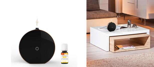 zenitude un diffuseur d 39 huile essentielle connect. Black Bedroom Furniture Sets. Home Design Ideas