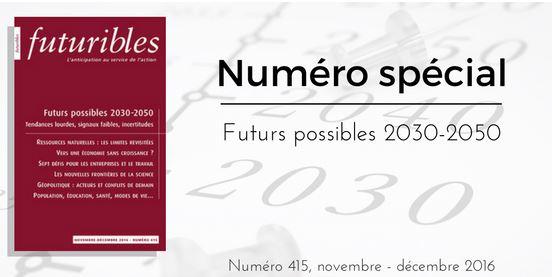 Futuribles met le cap sur 2030-2050